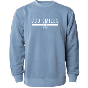 CCD Smiles Crew Neck Sweatshirts